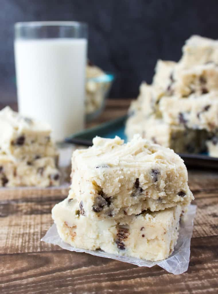 Easy Cookie Dough Fudge
